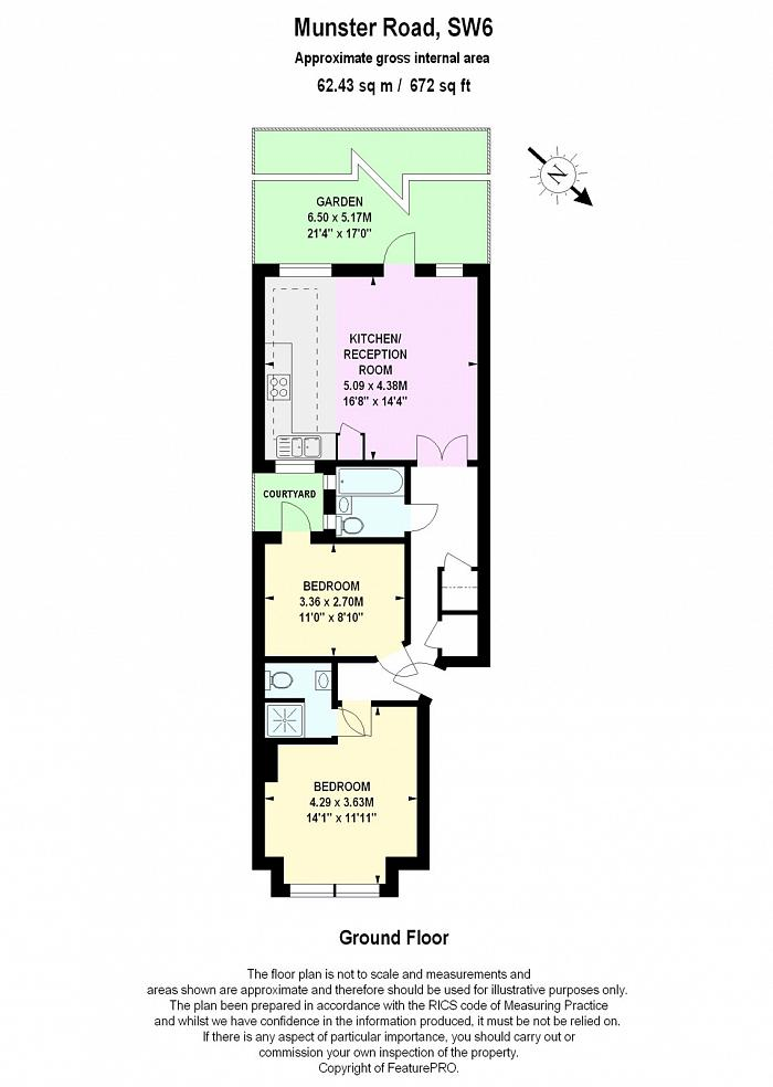 Munster Road, Fulham, SW6 Floorplan