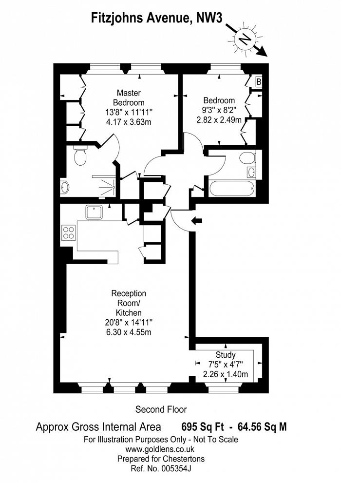 Fitzjohns Avenue, Hampstead Village, NW3 Floorplan
