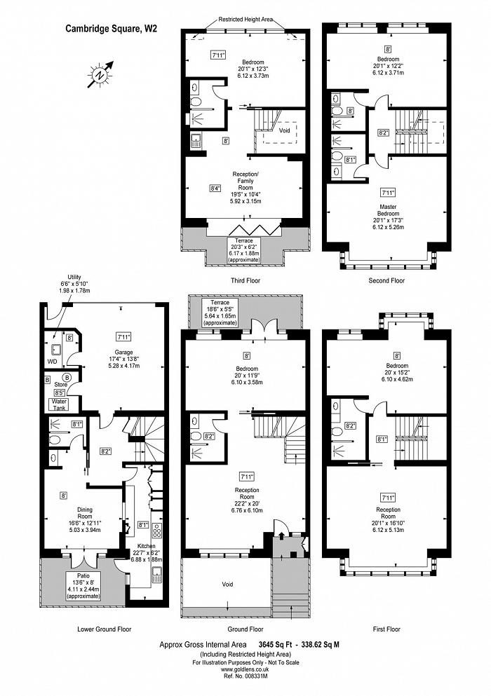 Cambridge Square, The Hyde Park Estate, W2 Floorplan