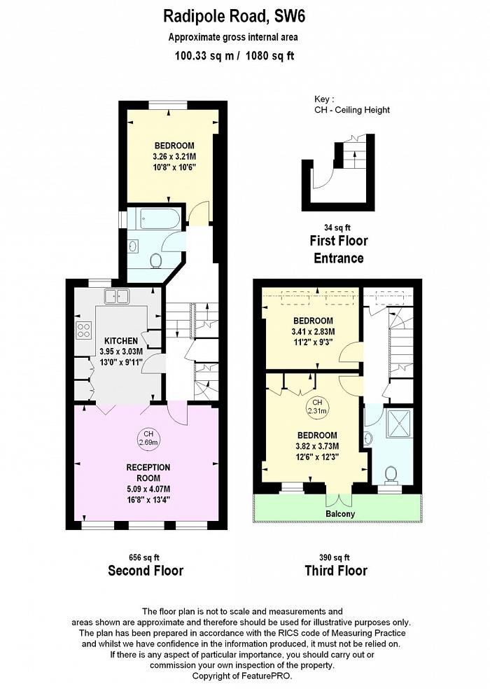 Radipole Road, Parsons Green, SW6 Floorplan