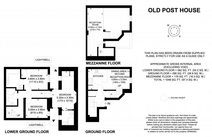 Old Post House, Churton Place, SW1V Floorplan