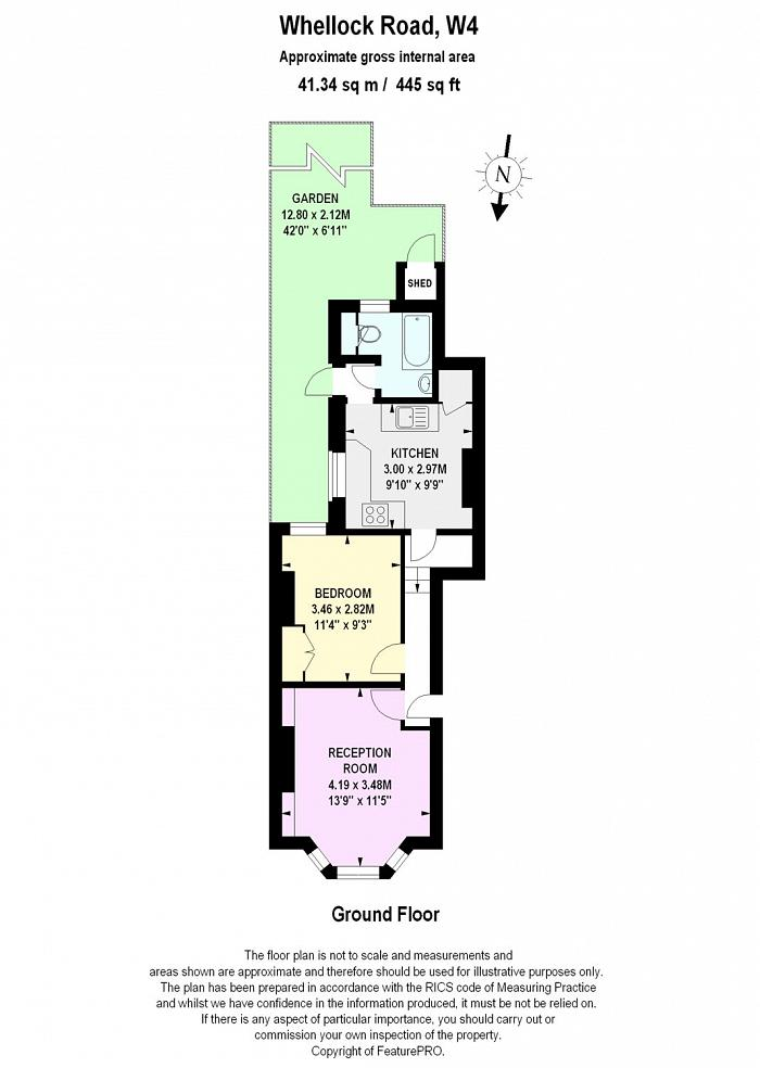 Whellock Road, Chiswick, W4 Floorplan