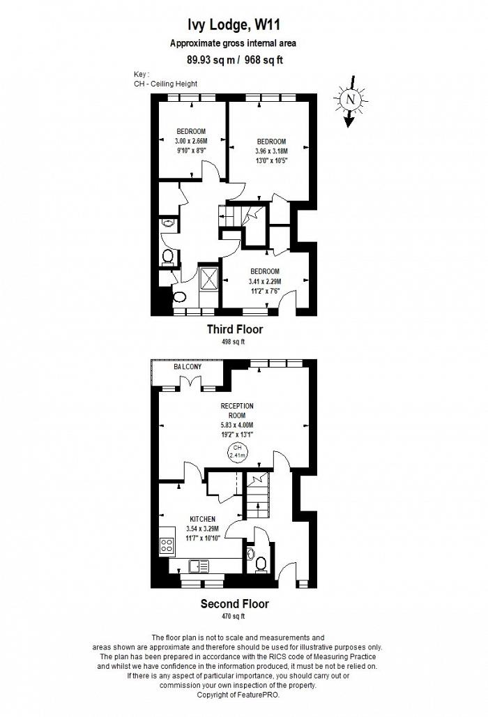 Notting Hill Gate, Notting Hill, W11 Floorplan