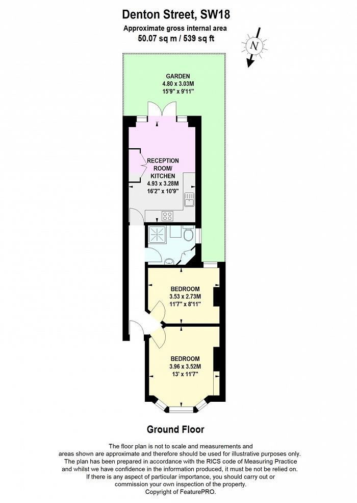 Denton Street, Wandsworth, SW18 Floorplan