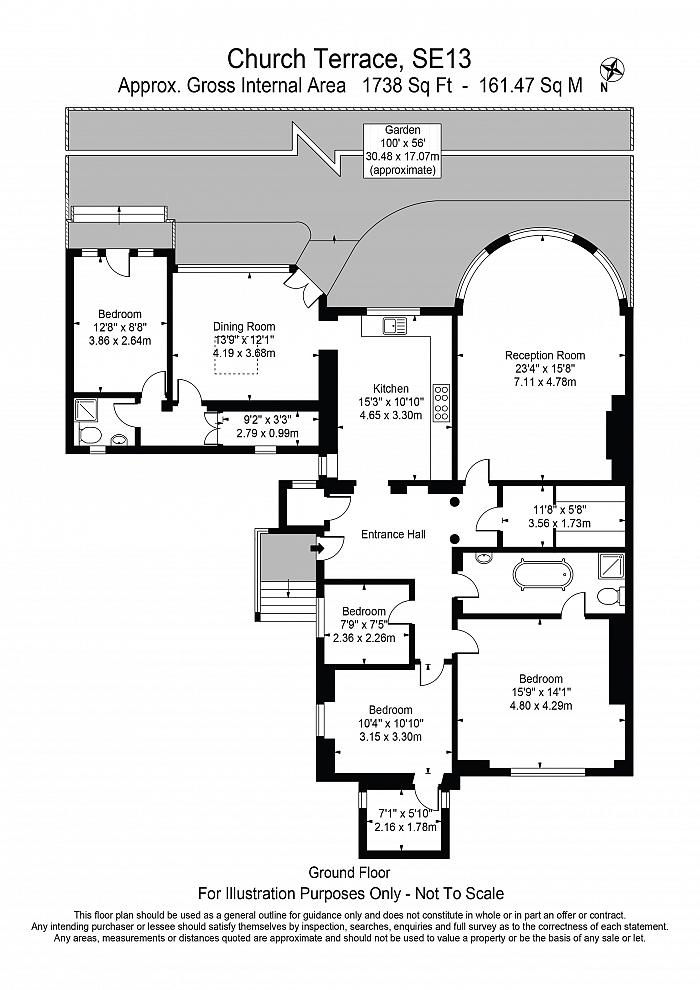 Church Terrace, Hither Green, SE13 Floorplan