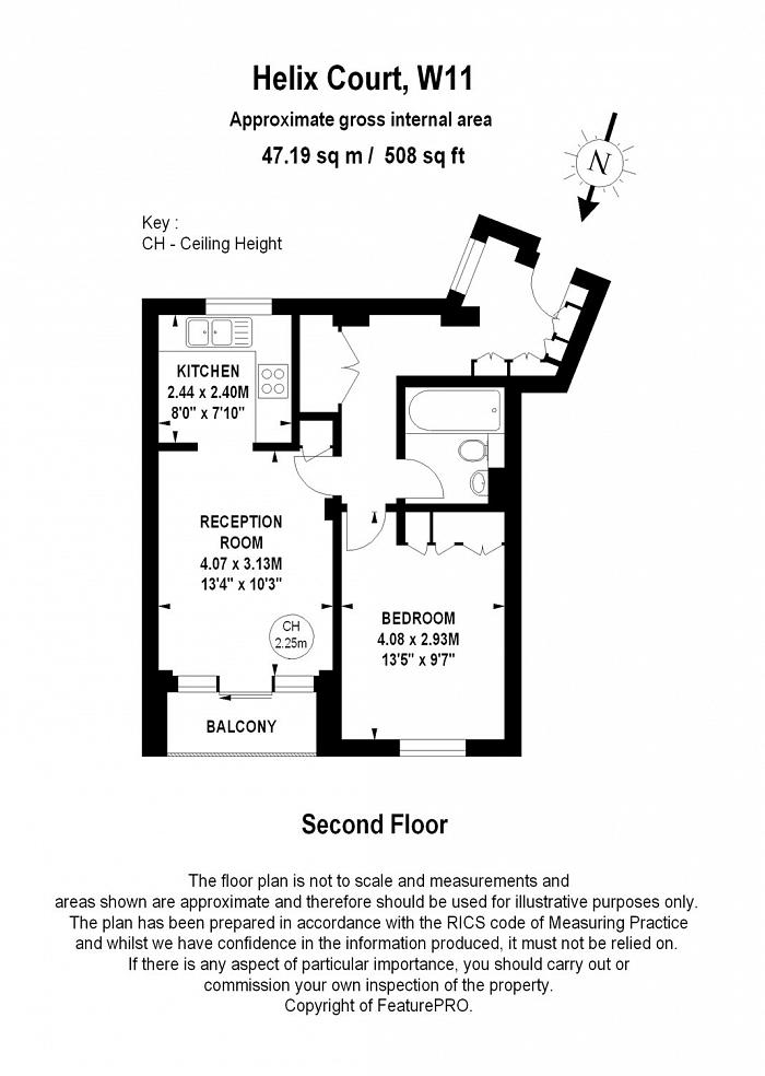 Swanscombe Road, Holland Park, W11 Floorplan