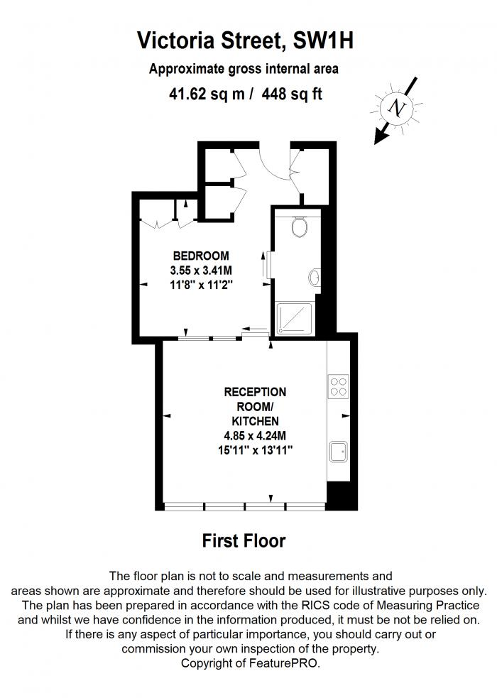 Victoria Street, Strutton Ground, SW1H Floorplan