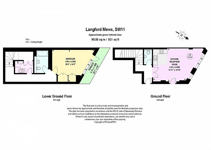 Langford Mews, Battersea, SW11 Floorplan