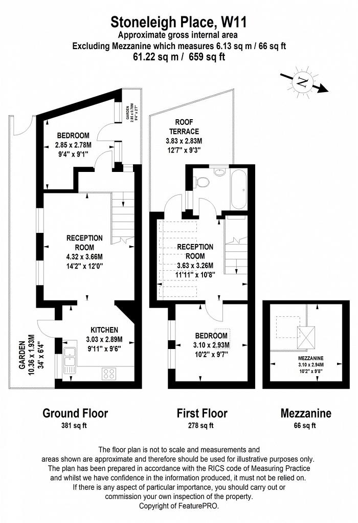 Stoneleigh Place, Holland Park, W11 Floorplan