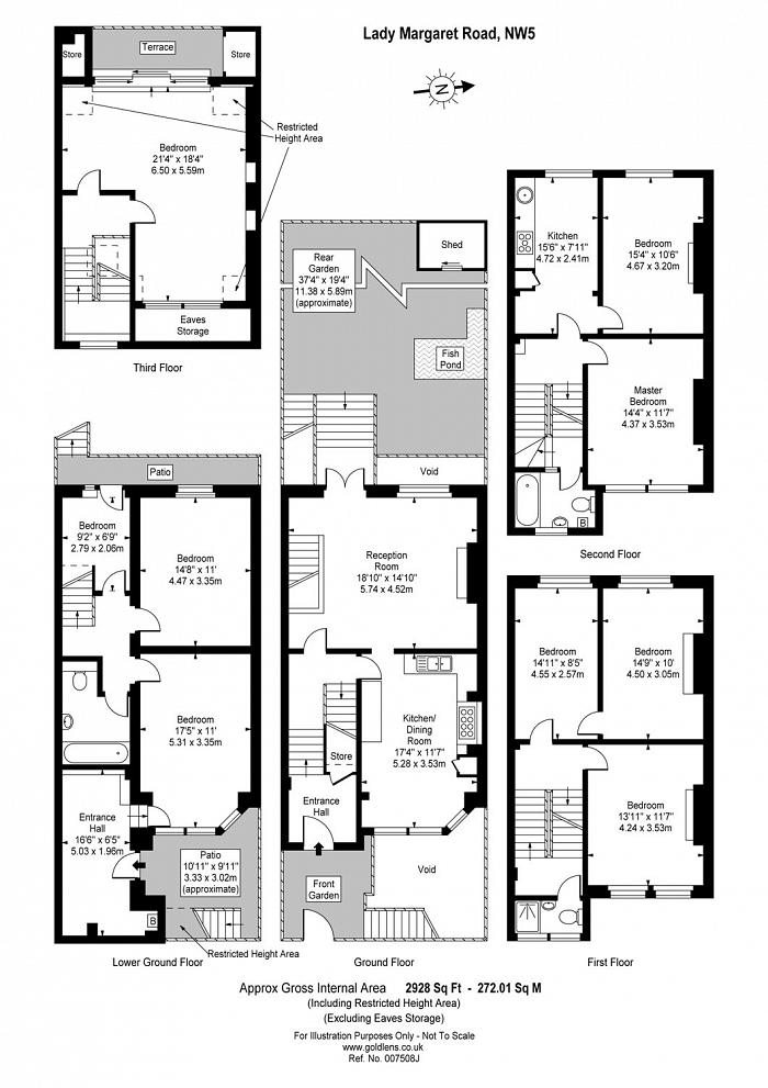 Lady Margaret Road, Kentish Town, NW5 Floorplan