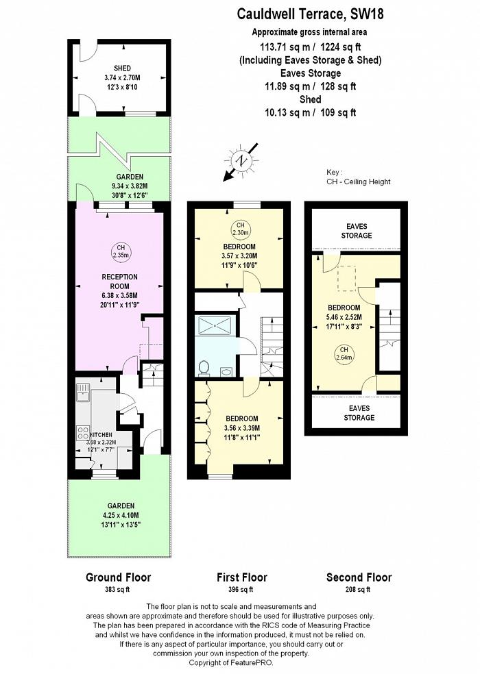 Caudwell Terrace, Westover Road, SW18 Floorplan