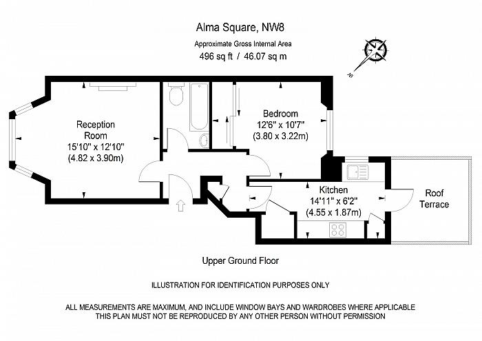Alma Square, St John's Wood, NW8 Floorplan