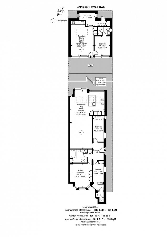 Goldhurst Terrace, South Hampstead, NW6 Floorplan