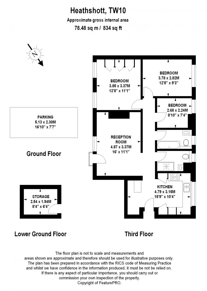 Heathshott, Friars Stile Road, TW10 Floorplan