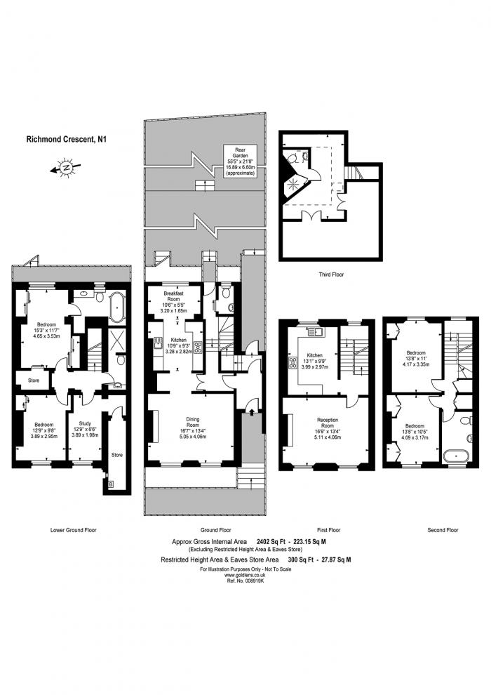Richmond Crescent, Islington, N1 Floorplan