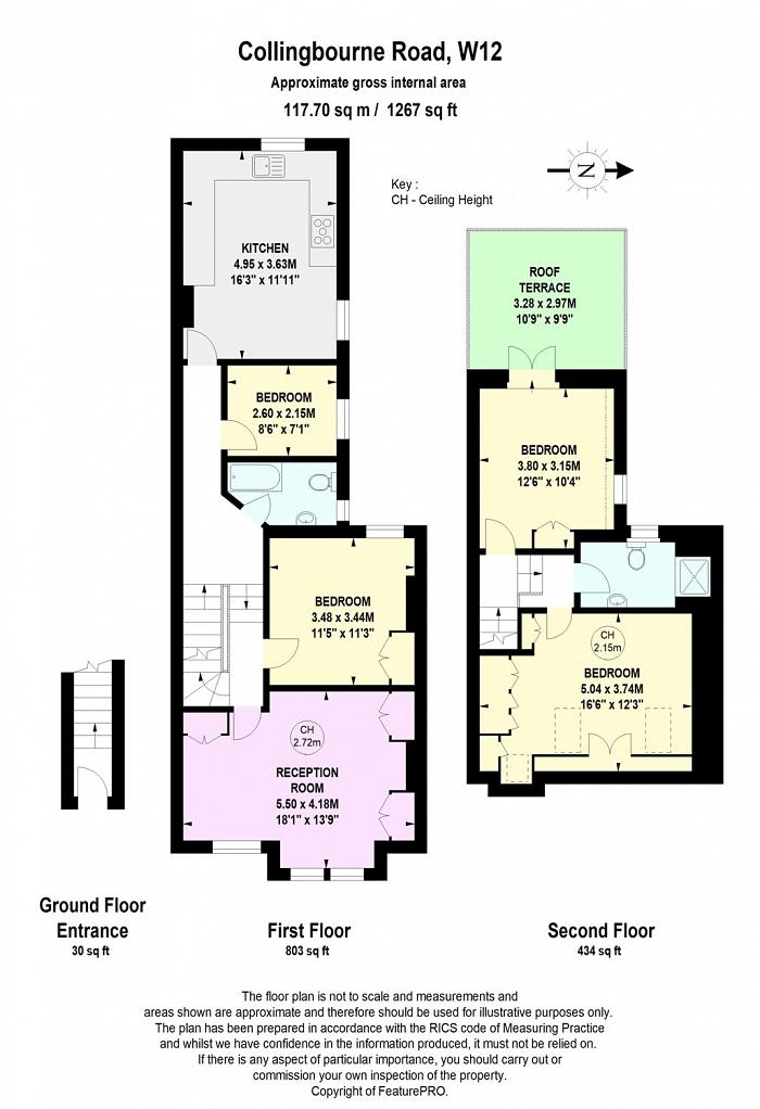 Collingbourne Road, Shepherds Bush, W12 Floorplan