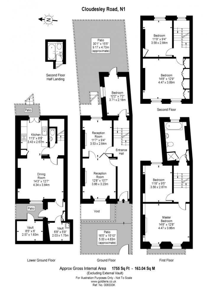 Cloudesley Road, Barnsbury, N1 Floorplan