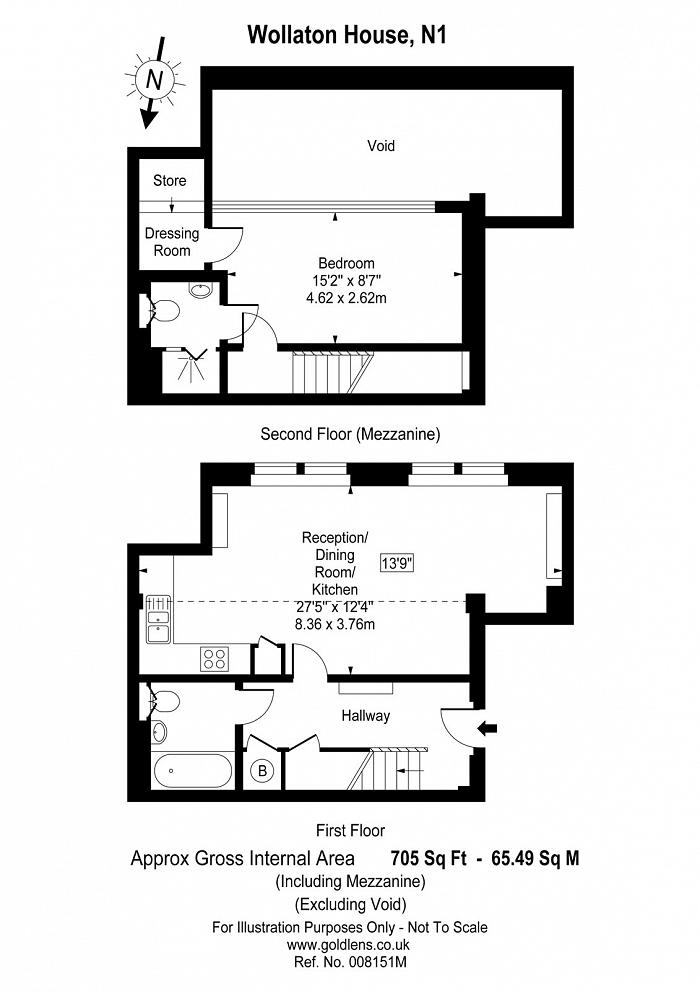 Batchelor Street, Islington, N1 Floorplan