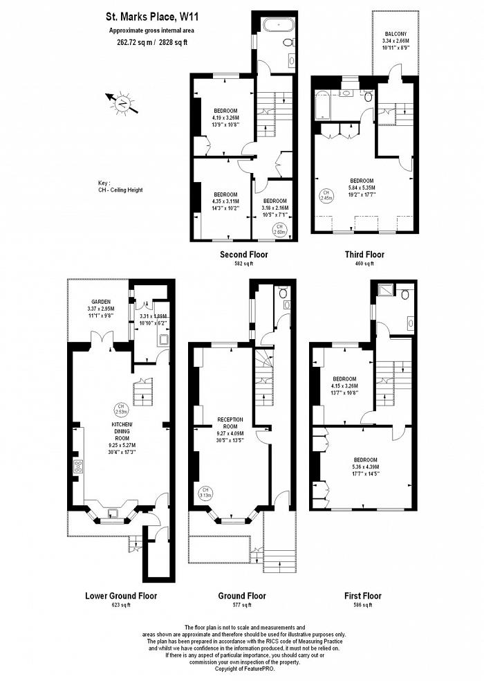 St. Marks Place, Notting Hill, W11 Floorplan