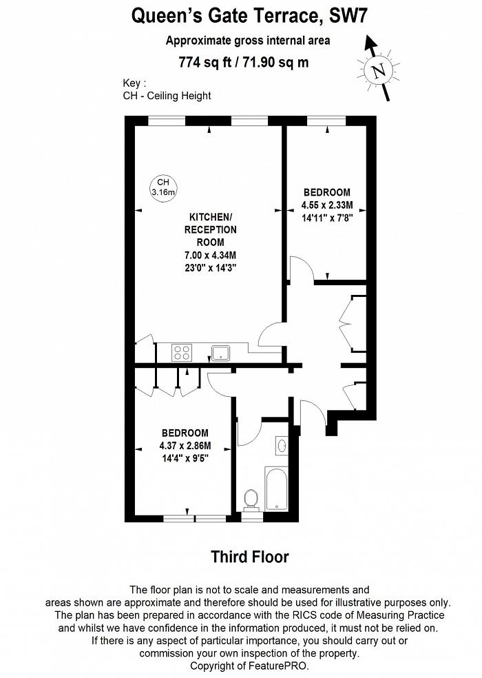 South Kensington, South Kensington, SW7 Floorplan