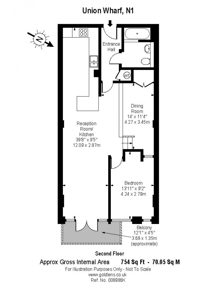 Wenlock Road, Islington, N1 Floorplan
