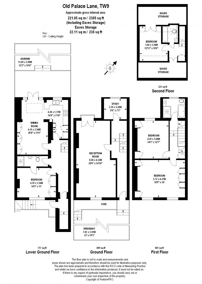 Old Palace Lane, Richmond, TW9 Floorplan