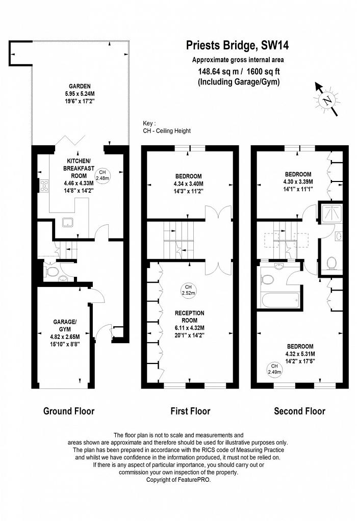 Priests Bridge, Mortlake, SW14 Floorplan