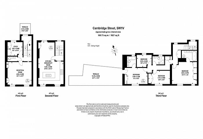 Cambridge Street, Pimlico, SW1V Floorplan