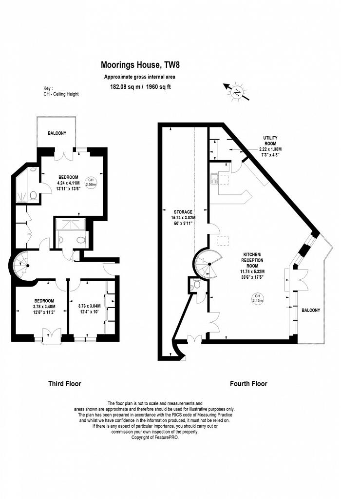 Tallow Road, Brentford, TW8 Floorplan