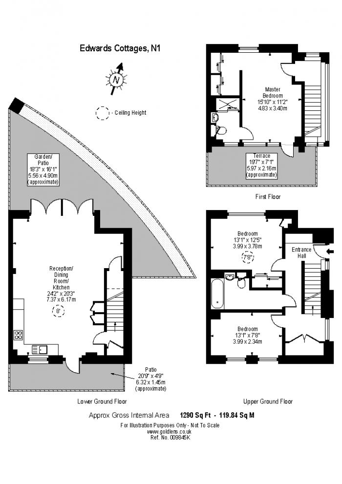 Edwards Cottages, Islington, N1 Floorplan