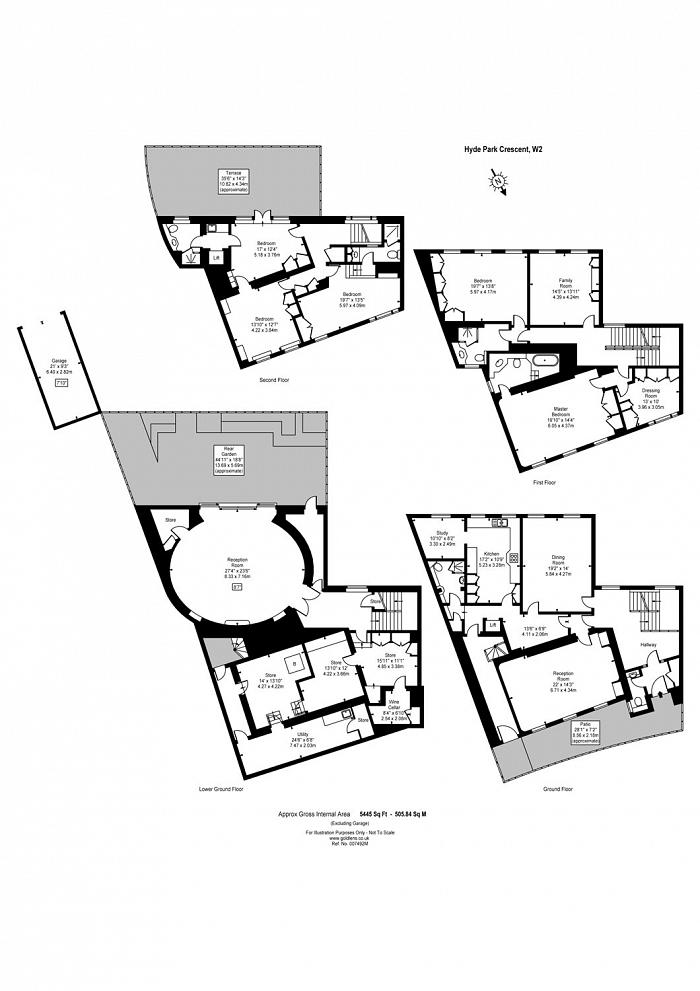 Hyde Park Crescent, Hyde Park Estate, W2 Floorplan
