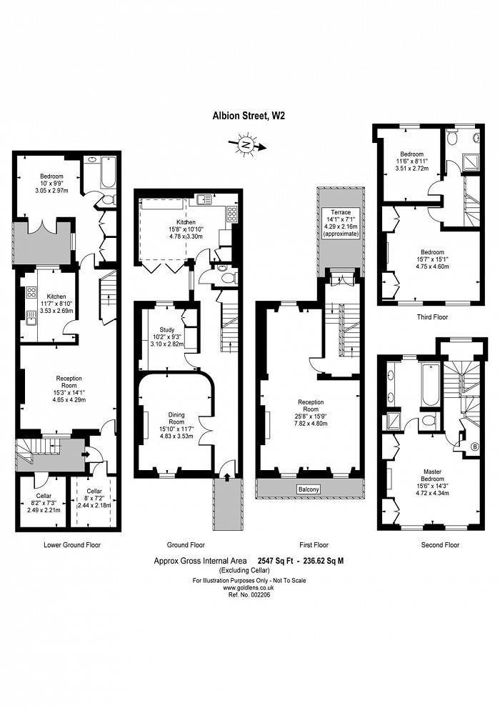 Albion Street, The Hyde Park Estate, W2 Floorplan