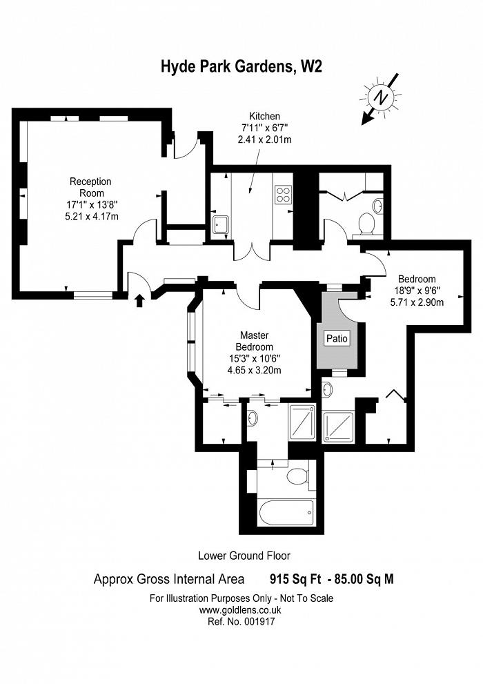 Hyde Park Gardens, The Hyde Park Estate, W2 Floorplan