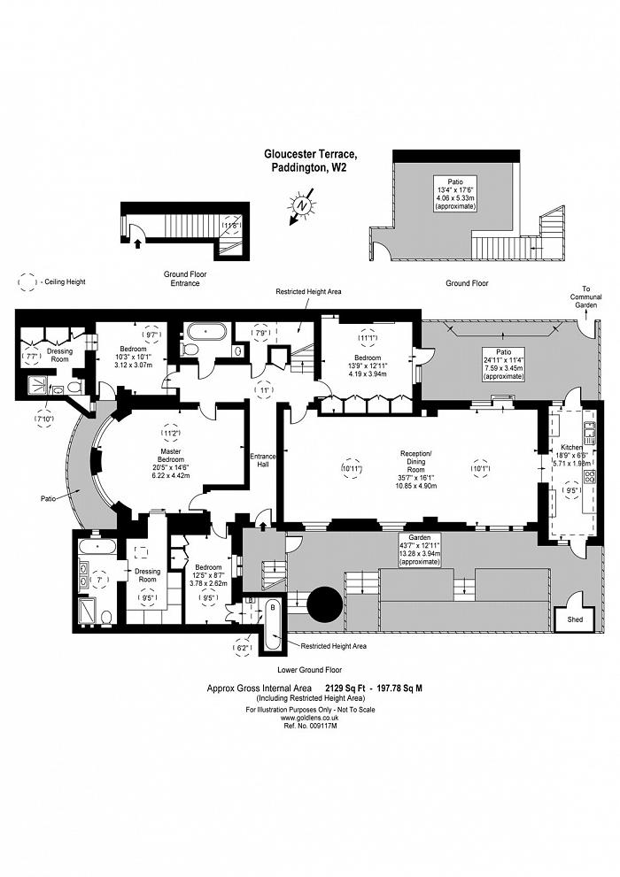 Gloucester Terrace, Paddington, W2 Floorplan