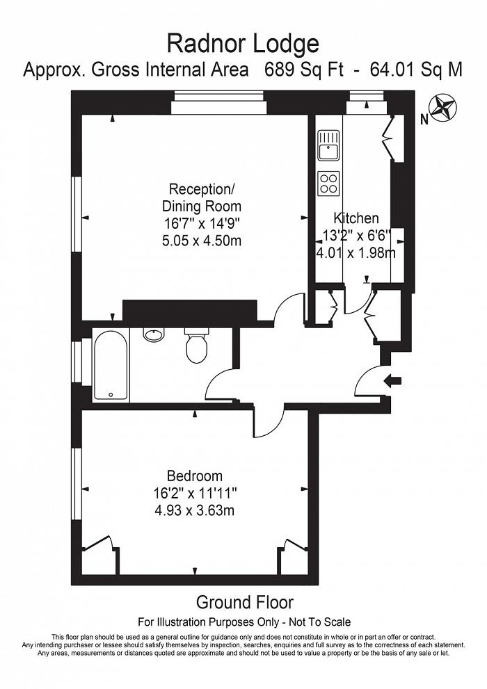 Radnor Lodge, Sussex Place, W2 Floorplan