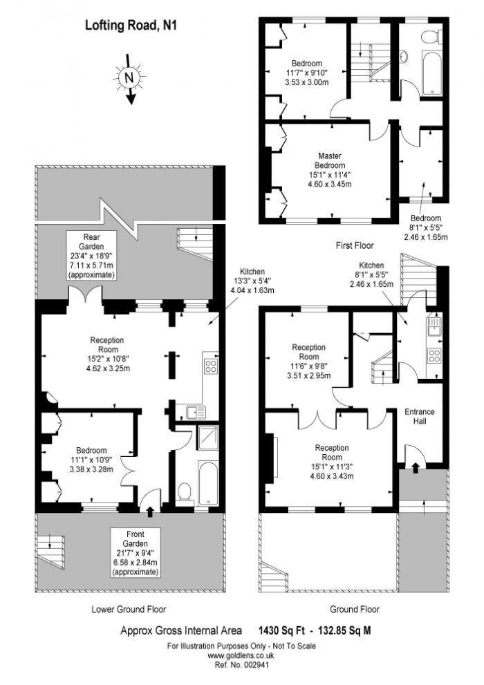 Lofting Road, Barnsbury, N1 Floorplan