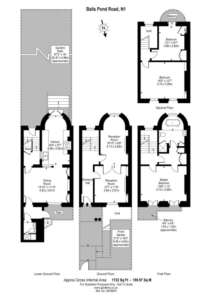 Balls Pond Road, Islington, N1 Floorplan