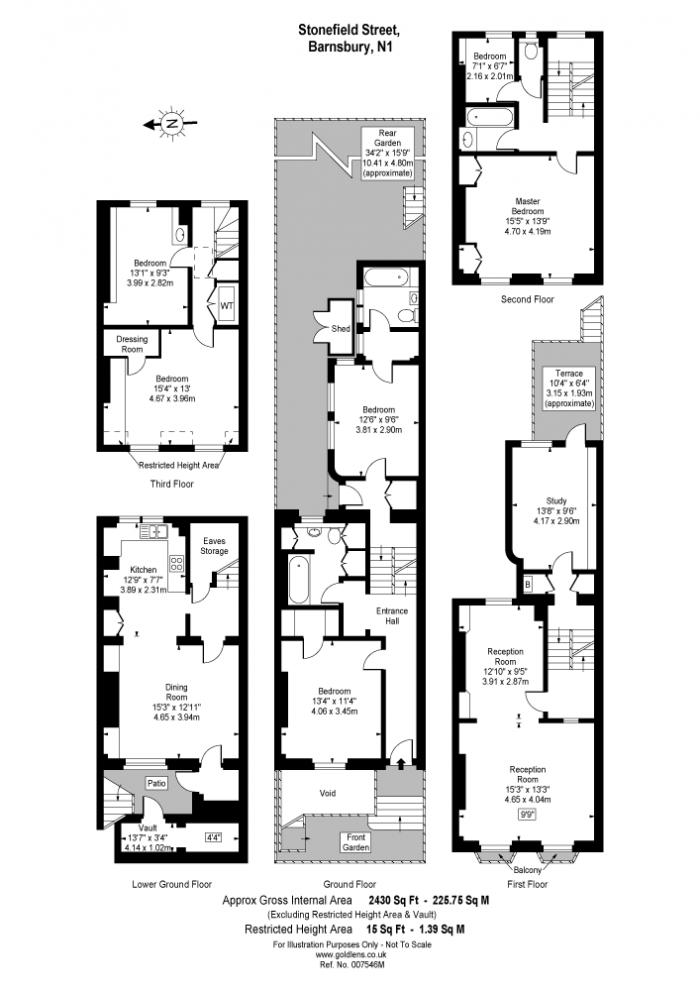 Stonefield Street, Islington, N1 Floorplan