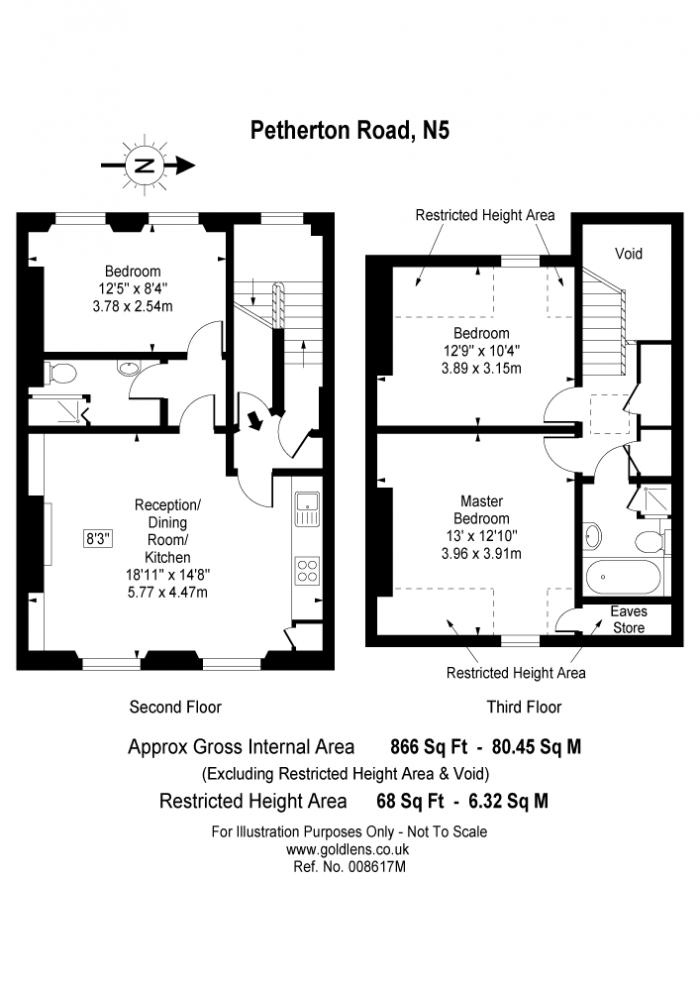 Petherton Road, Highbury, N5 Floorplan