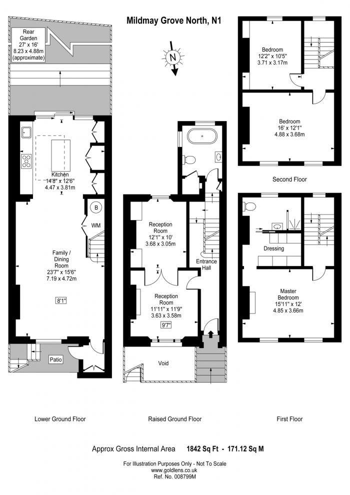 Mildmay Grove North, Islington, N1 Floorplan