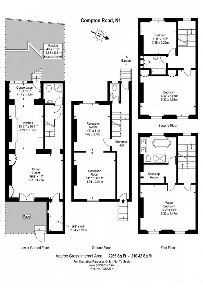 Compton Road, Islington, N1 Floorplan