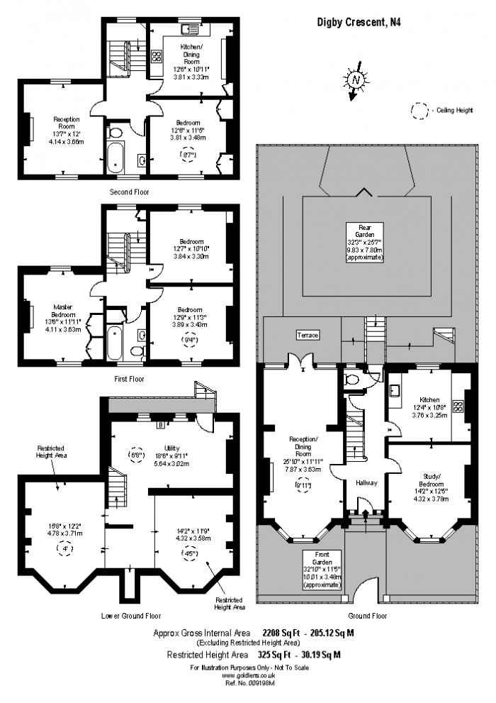 Digby Crescent, Highbury West, N4 Floorplan