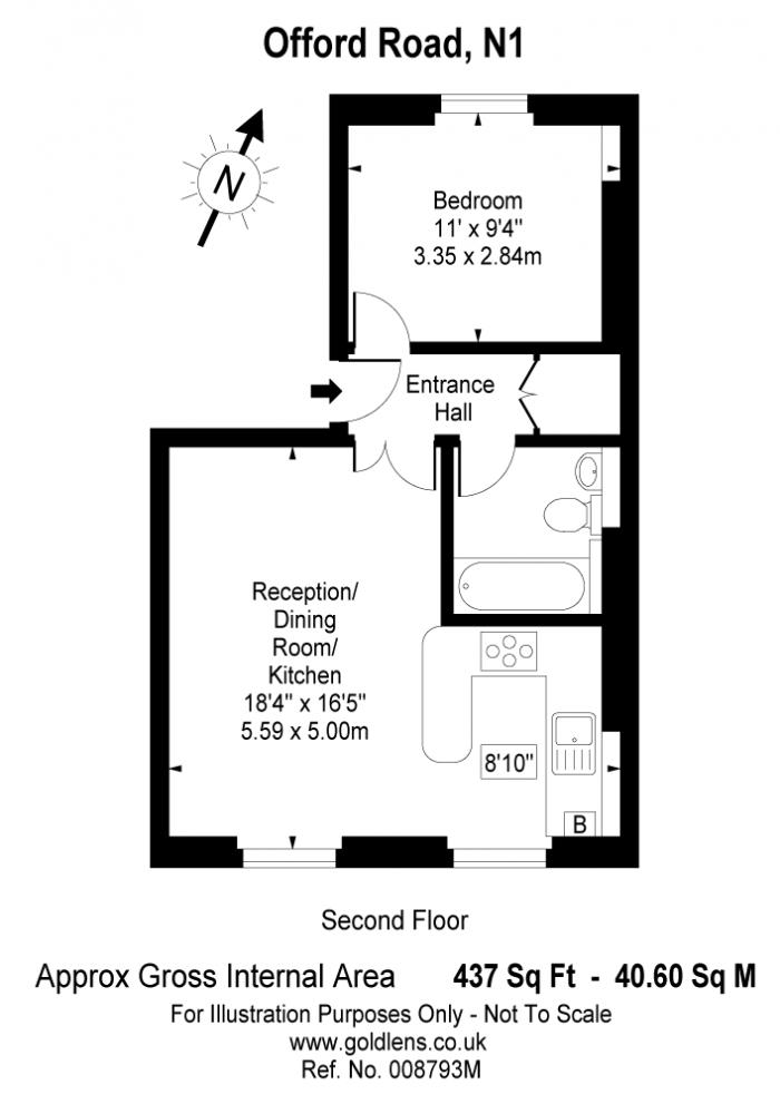 Offord Road, Islington, N1 Floorplan