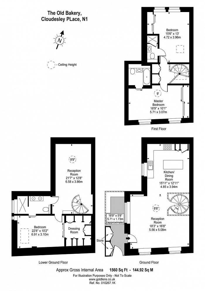Cloudesley Place, Islington, N1 Floorplan