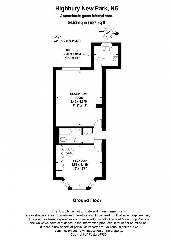 Highbury New Park, Highbury, N5 Floorplan