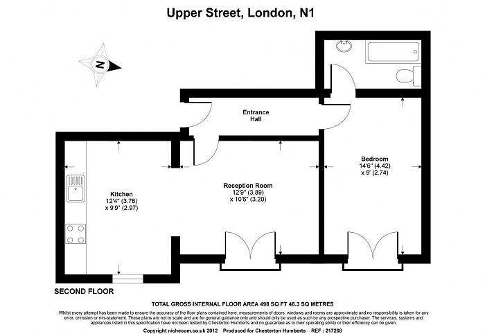 Upper Street, Islington, N1 Floorplan