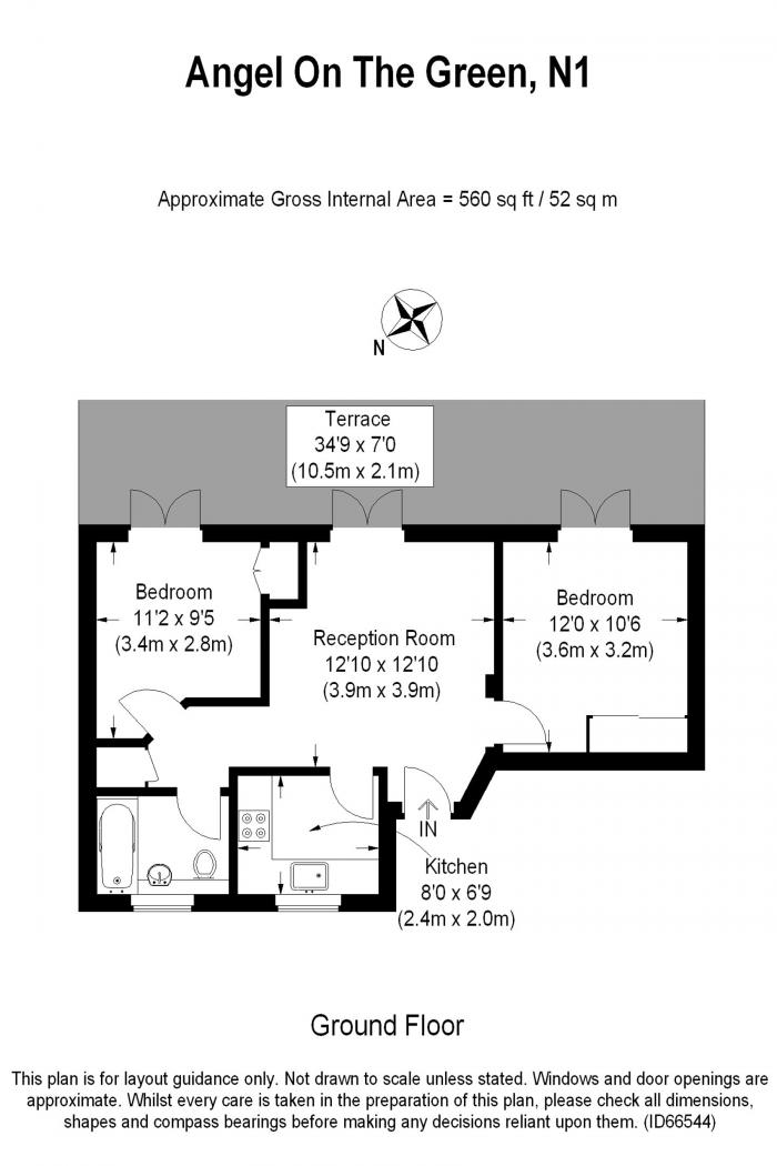Moore Court, Anderson Square, N1 Floorplan