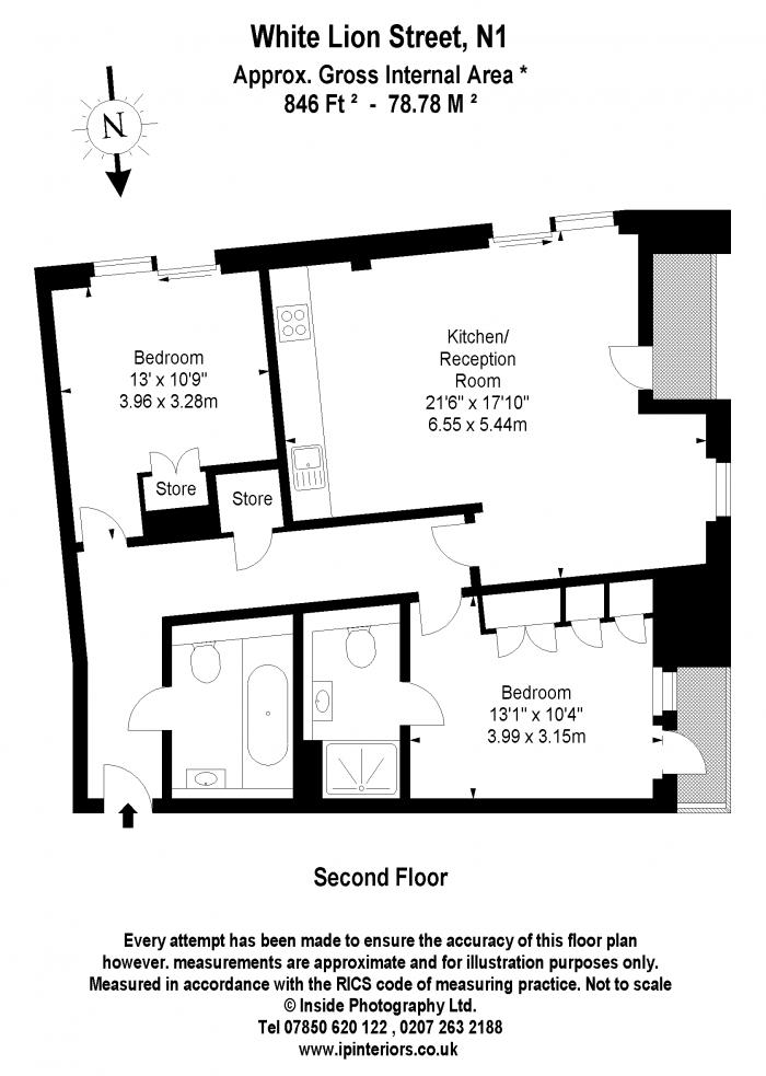 White Lion Street, Islington, N1 Floorplan