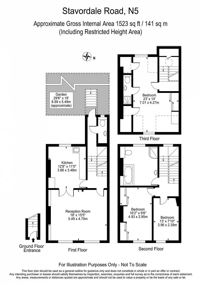 Stavordale Road, Aubert Park, N5 Floorplan