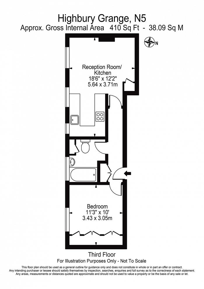 Matthews Court, Highbury Grange, N5 Floorplan